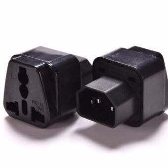 UPS ADAPTER UPS/หัวแปลง ปลั๊กups IEC to 3 PIN ปลั๊กAPC หัวแปลงปลั๊กIEC320 สำหรับคอมพิวเตอร์ UPS หรืออุปกรณ์อื่น ๆ แบบ High Grade