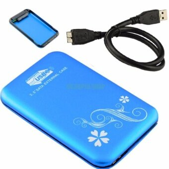 USB 3.0 External 2.5 Inch SATA Hard Disk Drive HDD SSD EnclosureCase