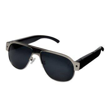 Vintage Metal Frame HD 1080P Glasses Spy Camera Sunglass DVR\nVideoRecorder Eyewear Hidden Sport DV Cam - intl