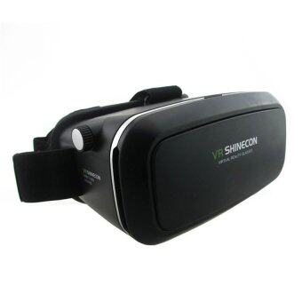 VR SHINECON by 9FINAL Virtual Reality Mobile Phone 3D Glasses 3DMovies Games (สีดำ) ฟรี 4 in 1 bluetooth remote controller (image 1)
