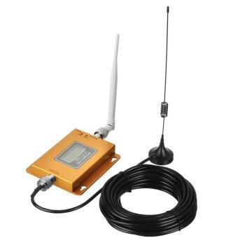 W-CDMA 2100MHz LCD Repeater / 3G Mobile Phone Signal Booster -Golden - intl
