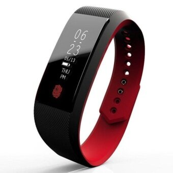 W808S Wristband Heart Health Monitor Bluetooth Smart Band PedometerIP67 Water Proof Bracelet Fitness Tracker Watches - intl