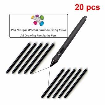 Wacom 20 pcs / lot Universal Black Nibs Replacement Stylus forBamboo CTL-460 660 470 471 671 - intl