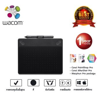 Wacom Intuos Photo Pen&Touch Small รุ่น CTH-490/K2-C (Black)