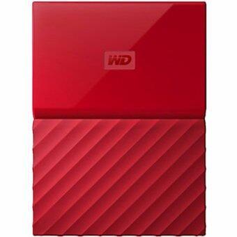 WD HDD - HARD DISK EXTERNAL 2.5 1TB MY PASSPORT 2017 RED (WDBYNN0010BRD)