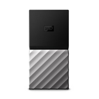 WD My Passport 256GB SSD USB Type-C, USB 3.0 External SSD(WDBK3E2560PSL)