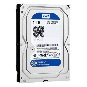 "WD Storage Desktop Hard Drives 1TB SATA III 7200RPM 64MB 3.5"" -Caviar Blue (WD10EZEX)"