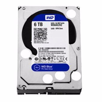WESTERN HDD Hard Disk Internal 6.0TB WD SATA-III 64MB WD60EZRZ (BLUE)