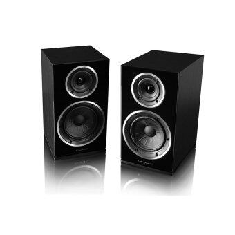 Wharfedale Diamond 225 Bookshelf Speaker (Black)