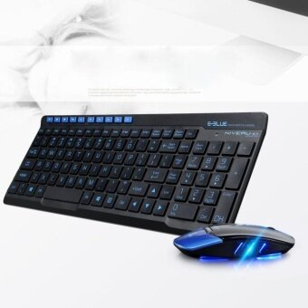 Wireless 2.4GHz Gaming Keyboard and Mouse Combo Set For PC Laptop BK - intl