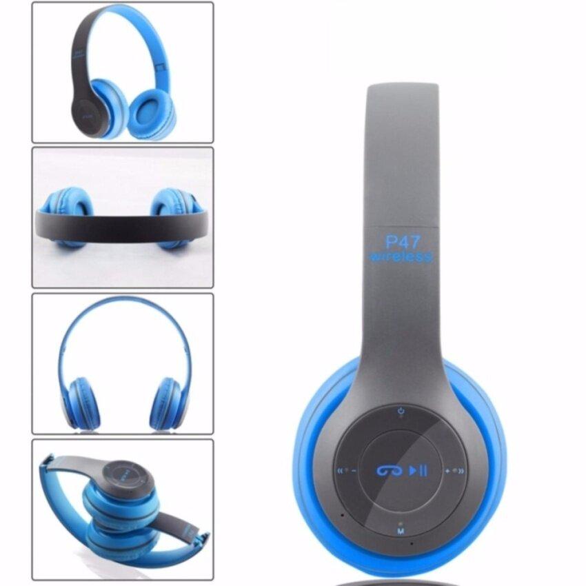หูฟัง บลูทูธ ไร้สาย Wireless Bluetooth Headphone Stereo รุ่น P47