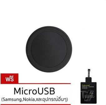 Wireless Charging Charger Pad for Samsung Galaxy S4 S5 S6 Edge Note3 Moto360 + แผ่นรับสัญญาณสำหรับ Samsung/Android