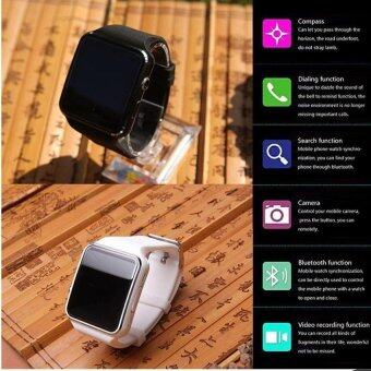 X6 Touch Screen Smart Watch Support Camera SIM TF Card BluetoothSports Reminder Smart Bracelet For IOS And Android - intl - 3