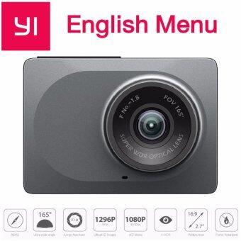 Xiaomi Yi Dash Cam 1080p car wiFi DVR (เมนูภาษาอังกฤษ)-Gray