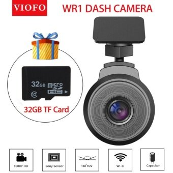 YACGroup VIOFO WR1 Capacitor Wifi Full HD 1080P Car Dash Camera DVRRecorder+32GB TF Card - intl