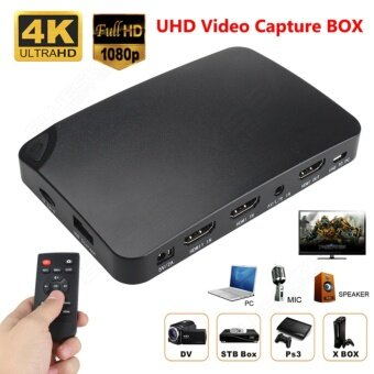 YK940 4K HDMI HD 1080P Video Capture Box UHD Recorder Box for DVDPC XBOX PS4 - intl