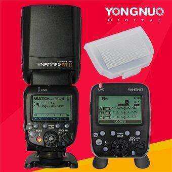 Yongnuo YN600EX-RT II 600EX II-RT Flash Speedlite and YN-E3-RT Wireless Flash Trigger Transmitter Kit - intl