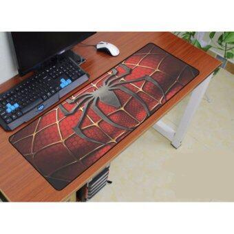 Your standard CN แผ่นรองเมาส์ขนาด 90x30 ซม. ลาย Spiderman logo