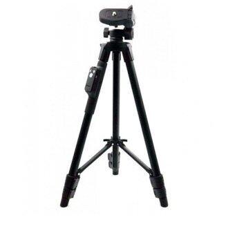 Yunteng 5208 ขาตั้งกล้อง 3 ขา ขาตั้งมือถือ พร้อมรีโมท ฟรีบัตรตั้งโทรศัพท์ (image 1)