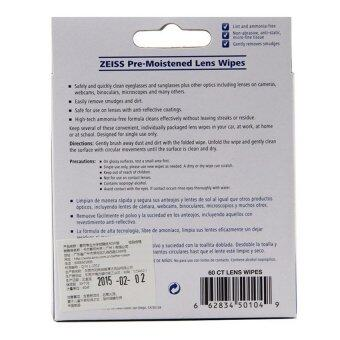 ... Zeiss Pre-Moistened Lens Screen Optical Camera Cleaning Cloth Wipes60Pcs In Box - 4 ...