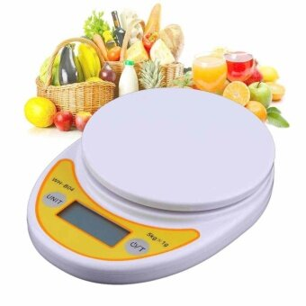 Harga 1 Pcs 5 kg/0.1g Digital LCD Display Electronic Kitchen Scale FoodWeighing Scale - intl