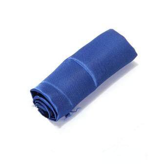 ชุดผ้าเช็ดปากผ้าสีน้ำเงิน 10 ผืน ขนาด 30 x 30 ซม.