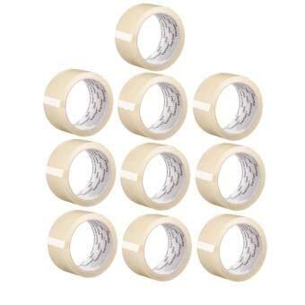 (10 ม้วน) 3M 305 OPP Tape เทปโอพีพี ปิดกล่องสีใส 48 mm.x40 m.