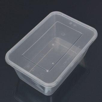 10 x อ่างล้างภาชนะพลาสติกมีฝาตู้ไมโครเวฟอาหารกล่องอาหาร 500 มล. - intl - 2