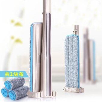 (100 % new) Lazy person cleaning mop, rotating cleaning mop, stainless steel multi-function mop (mop) - intl