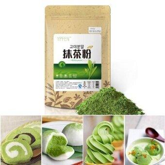 100g Matcha Powder Green Pure Organic Certified Health Tea CakePeople - intl