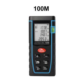 100m Mini LCD Digital Laser Distance Meter RangeFinder MeasureDiastimeter