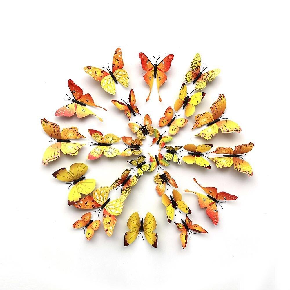 Fancy 3d Butterfly Wall Art Diy Mold - Wall Art Collections ...