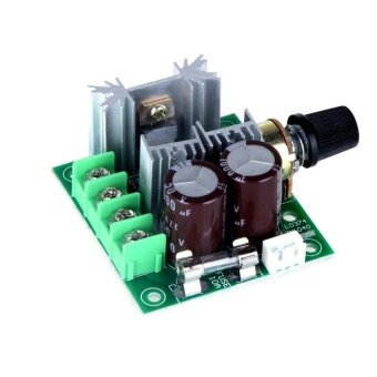12V-40V 10A 13KHz PWM DC Motor Speed Control Switch - intl