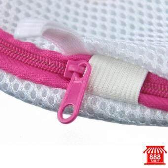 ถุงซักถนอมผ้าสำหรับเสื้อชั้นใน ขนาด 19x19 เซนติเมตร 888443WH120 - 4