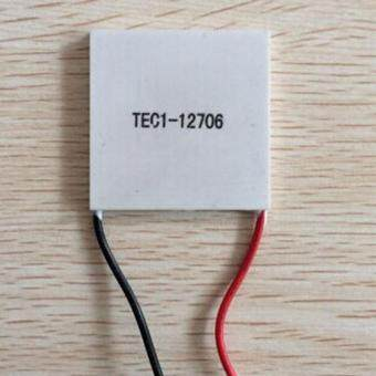 1PC 12V 60W TEC1-12706 Heatsink Thermoelectric Cooler Peltier Cooling Plate - intl