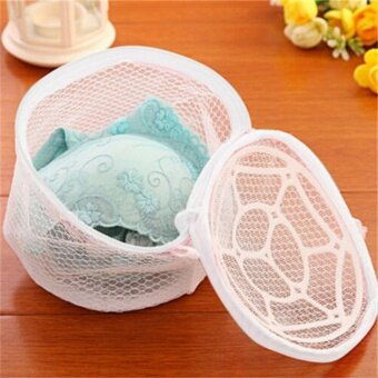 1x Laundry mesh Zip Bag Bra Lingerie Wash Bags Clothes Washing Net Bag For Home Using Underwear Washing