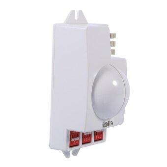 360° 500W Microwave Smart Motion Sensor Light Radar Switch Ceiling Recessed Wall Garage Control - intl - 4