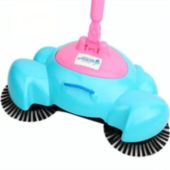 360 degree rotation household clean Fully automatic Hand pushSweeping machine Magic broom Dustpan Combination suit