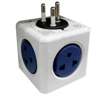 ปลั๊กแปลง 4 ช่อง Toshino Power cube 4600+USB 2 ช่อง