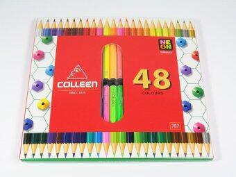 สีไม้คอลลีน 48 สี สองหัว: ซื้อขาย ของแปรงระบายสี ออนไลน์ในราคาที่ถูกกว่า