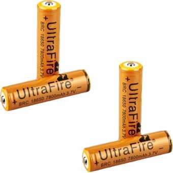 4Pcs UltraFire 7800mAh 18650 Rechargeable Lithium Li-ion Batteries