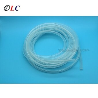 5 Meters,8mm ID 10mm OD 8x10mm Transparent Food Grade Medical Use FDA Silicone Rubber Flexible Tube / Hose / Pipe / tubing - intl