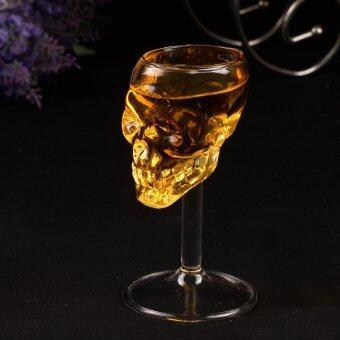 ต้องการขาย 55ml Skull glass glass Head Vodka Wine Glass Cup Home Bar giftartware