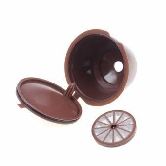 5pcs/pack use 250 times Refillable Dolce Gusto coffee Capsulenescafe dolce gusto reusable capsule dolce gusto capsules - intl - 3