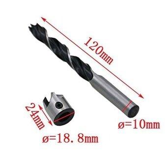 7 PCS 3-10mm 5 Flute Countersink Drill Bits Quick Change Bit EndMilling tool - intl - 5