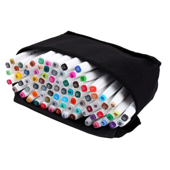 80 Colors Sets Touch Five Alcohol Graphic Art Twin Tip Pen MarkersBroad Fine Point(Picea meyeri) - intl