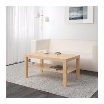 ต้องการขาย โต๊ะกลาง สีเบิร์ช ขนาด 90x55 ซม.
