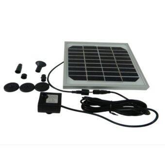 โซล่าเซล น้ำพุ พลังงาน แสงอาทิตย์ 9V 3W (Solar Pump for Water Fountain)