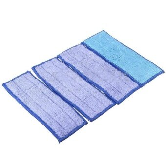 Harga Ac Blue 4Pcs Washable Wet Mopping Pads Replacment Damp &Amp;Dryfor Irobot Braava Jet 240 - intl