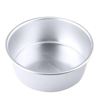 ADS Practical High-quality Hot Sell 8\ Aluminum Alloy Non-stick Round Cake Baking Mould Pan Tin Mold Tray Tool - intl